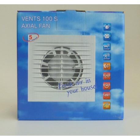 Extractor Ba O Plastico Blanco S 100mm Saneaplast