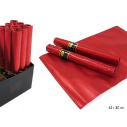 Salvamantel Plastico Rojo Juinsa 30 Cm