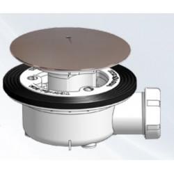 Valvula Plato Ducha Sifon C/tornillos Hidrotec T-78t 115mm