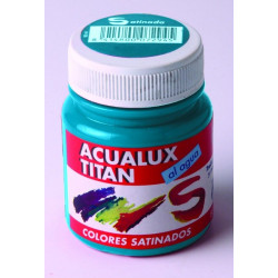 Pintura Manualidades Acril Sat Chocolate Titan Acualux 100ml