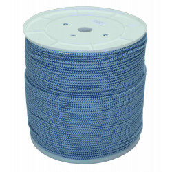 Cuerda Poliester Trenza +fuerte Monofil Bl/az 4,5mm/400m Hyc