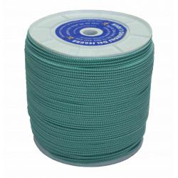 Cuerda Poliester Trenza +fuerte Monofil Bl/ve 4,5mm/400m Hyc