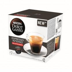 Capsula Cafe Espresso Descafeinado Nescafe Dolce Gusto 16pz
