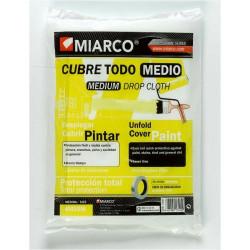 Plastico Polietileno Cubretodo Medio 4x5m. 21626