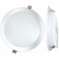 Downlight Led Empotrar Plano Blanco-4000k 25w