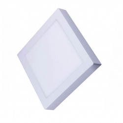Downlight Led Cuadrado Blanco-6000k 20w Silver Electronics