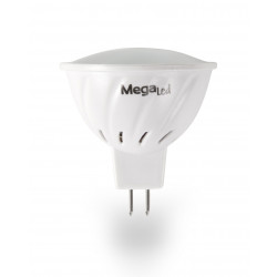 Lampara Dicroica Led 3000k Mr16 3w 230lm Megaled 5pz