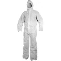 Buzo Desechable Blanco 3l Chem 50 T-s