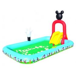 Piscina Con Tobogan 320x175x157cm Bestway Mickey