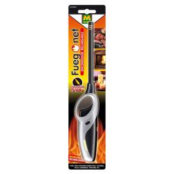 Encendedor Gas Turbo Fuegonet Para Chimeneas