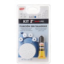 Fijacion Adhesiva Armarios Baño Kit Fix Tatay
