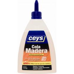 Cola Madera Secado Rapido C/ Fibras Biberon 500gr Ceys