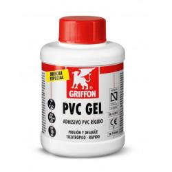 Adhesivo Gel Rapido Pvc Rigido C/brocha Bote 500ml Griffon