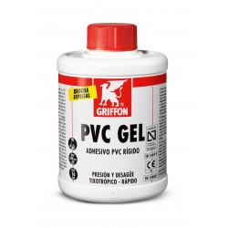 Adhesivo Gel Rapido Pvc Rigido C/brocha Bote 1l Griffon