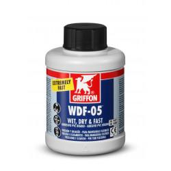 Adhesivo Gel Rapido Pvc Rigido C/brocha Bote 250ml Griffon