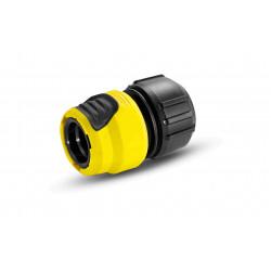 Conector Riego Universal Plus Con Aquastop Karcher