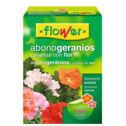 Abono Geranios Soluble 800gr Flower