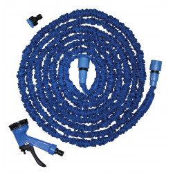 Manguera Extensible Azul Natuur Con Pistola/conectores 5-15m