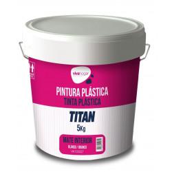 Pintura Plastica Vivahogar Mate Blanca Interior 5kg