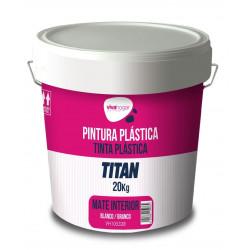 Pintura Plastica Vivahogar Mate Blanca Interior 20kg