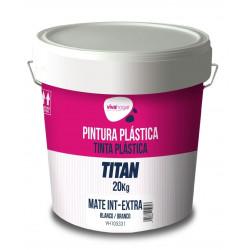 Pintura Plastica Vivahogar Mate Blanca Interior Extra 20kg