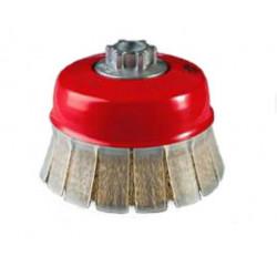 Cepillo Taza Acero Ltdo 100mm Altas Rev C/guarda Tog1000em14