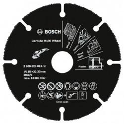 Disco Corte Madera/plastico/pladur 115mm Carburo Bosch