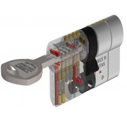 Cilindro Seguridad T-70 40x40 Laton