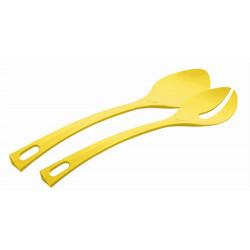Cubierto Cocina Servir Ensalada Amarillos 2pz