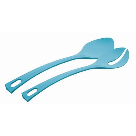 Cubierto Cocina Servir  Ensalada Azul 2pz