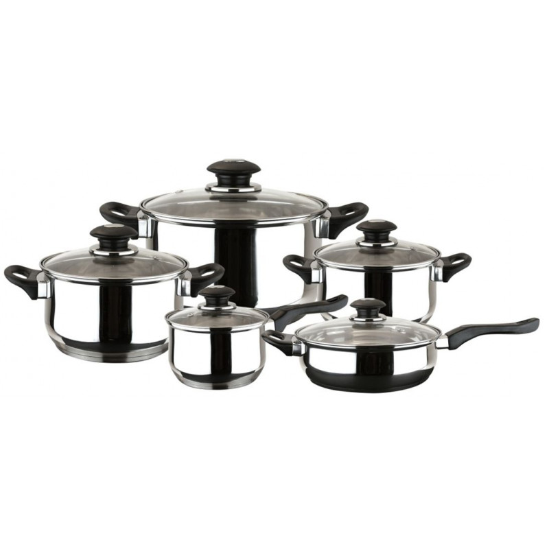 Comprar bateria cocina inox 10pz family magefesa en for Carrefour menaje cocina