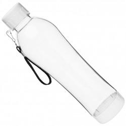 Botella Liquido C/tapa Transparente Blanca