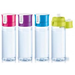 Botella Agua Purif. 0,6lt + 1filtro Rosa Fill&go Brita