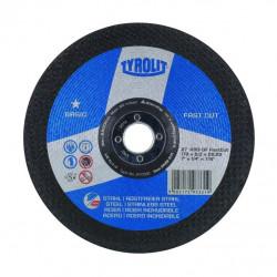 Disco Desbaste Inox 115x6x22 Mm Fast Cut Tyrolit
