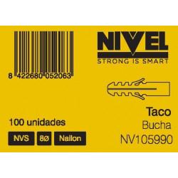 Taco  Nvs 8 100pz Nivel