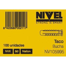 Taco  Nvx 8 100pz Nivel