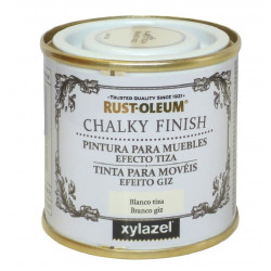 Pintura Muebles Al Agua Efecto Tiza Chalky Blanco 125ml