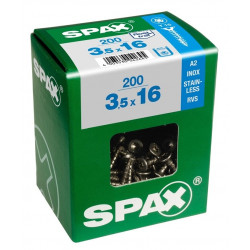 Tornillo Spax Trx 04x030mm A2 Inox 150pz