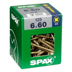Tornillo Spax 04x060mm Bicromatado 200pz