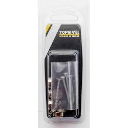 Embellecedor Liso 14mm Niquel 4pzs