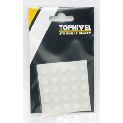 Lagrima Adhesiva Gota 10mm 25 Piezas