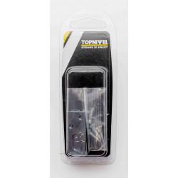 Colgador De Galeria 40mm Zincado 4pz