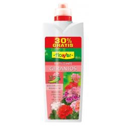 Abono Liquido Geranios 1000+300ml Gratis Flower
