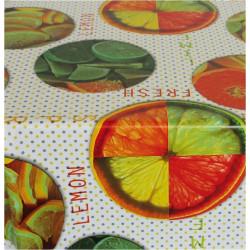 Hule Mesa 1,40x25mt Pvc Frutas Ecco 226 Aitana