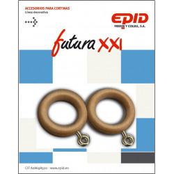 Anilla Cortina 19mm Hogar Mad Haya Epid 10 Pz