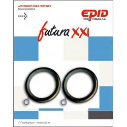 Anilla Cortina 19mm Hogar Met Ne Futura 21 Epid 10 Pz
