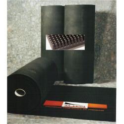Felpudo Dec. 8x1,2mt-15mm Cepillo Goma Modian