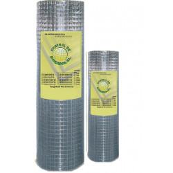 Malla Cerc Electros. 19x19x1,40x0,80 25mt Ac Galv Tmg