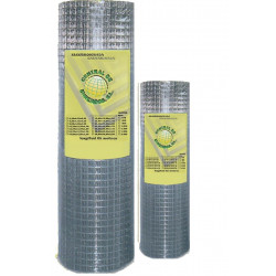 Malla Cerc Electros. 19x19x1,40x1,00 25mt Ac Galv Tmg