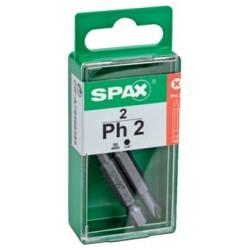 """Punta Atorn Ph2 1/4""""""""-50mm Spax"""